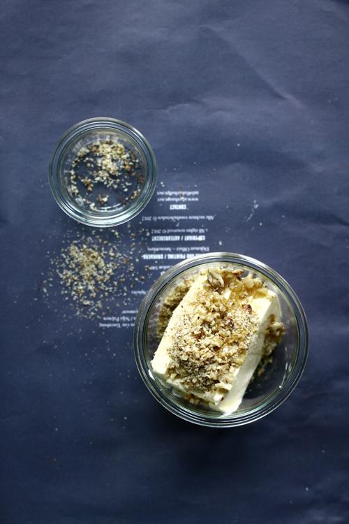 Honey and walnut butter.